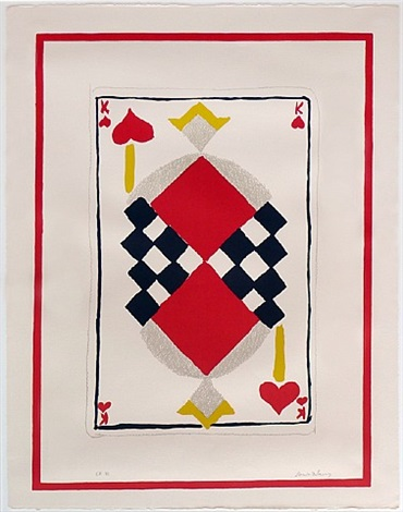 king of hearts by sonia delaunay-terk