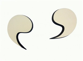 quotation marks by richard artschwager