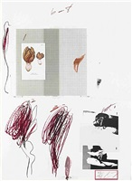natural history part i, no.ix by cy twombly