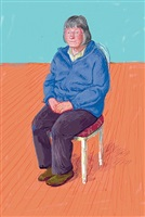 margaret hockney by david hockney