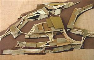 site plan, paris (2) by tadashi kawamata