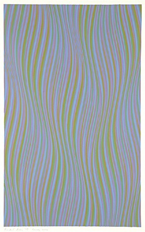reverse curve by bridget riley
