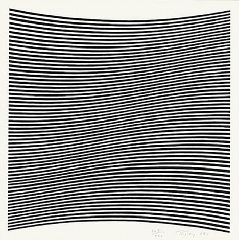 untitled (la lune en rodage – carlo belloli) by bridget riley