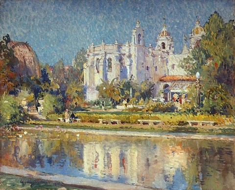 balboa park, varied industries building by colin campbell cooper