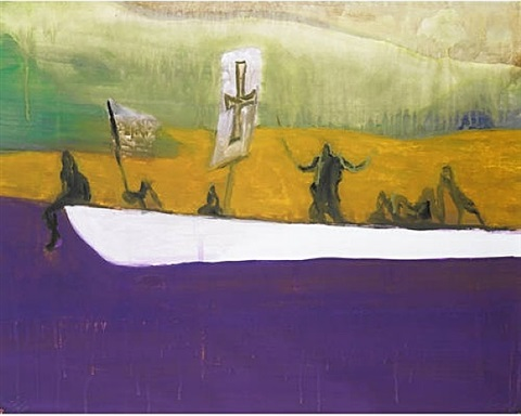 canoe by peter doig