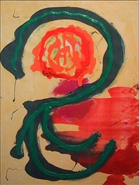thupelo series - untitled by john hoyland