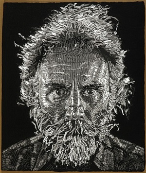 lucas paper/pulp by chuck close