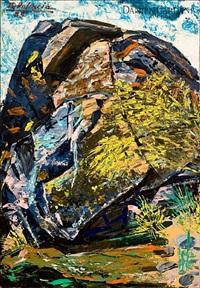 la piedra sobre el río corneja by benjamín palencia