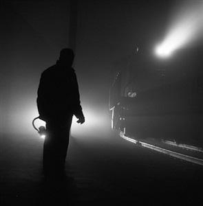 "t&s ry winter ""tule fog"" at modesto, ca by richard steinheimer"