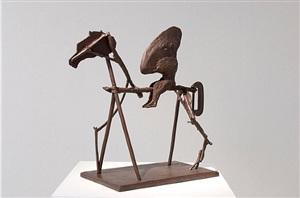 untitled vii (nose on stick horse) by william kentridge