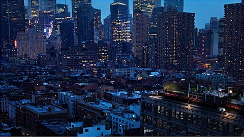 girl in new york by david drebin