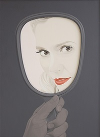hand mirror 3 by colin mcmaster