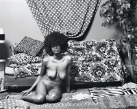 (if loving you is wrong) i don't want to be right by mickalene thomas