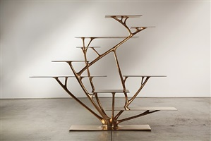 branch bookshelf by joris laarman