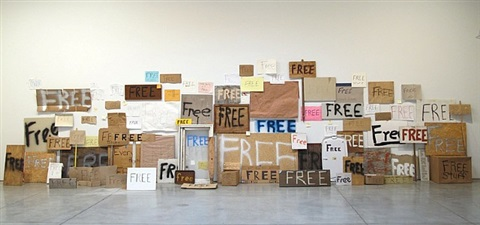 free signs by peter liversidge
