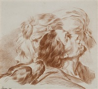 study of heads by jean baptiste marie pierre