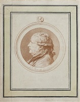 portrait of jean-marie roland, viscount of the platière by louis rolland trinquesse