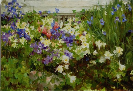 telluride columbine (sold) by kathy anderson