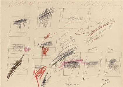 cy twombly a private collection works on paper by cy twombly