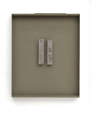 filz-magnet (doppelobjekt) / felt magnet (double object) by joseph beuys