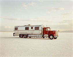 world's fastest mobile home (96 mph) by richard misrach