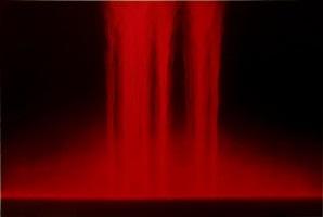falling color (red) by hiroshi senju