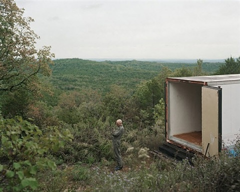 the arkansas cajun's backup bunker by alec soth