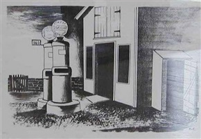 untitled (gas station) by konrad cramer