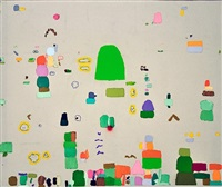 garden with letters (sold) by federico herrero