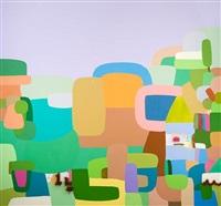 paisaje con letras (sold) by federico herrero