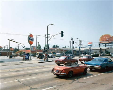 la brea avenue los angeles california june 22 by stephen shore