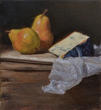 bartletts & blue cheese (sold) by grace mehan devito