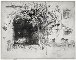 the traghetto by james abbott mcneill whistler