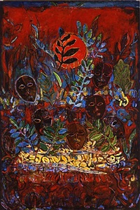 dance of the masks by david driskell