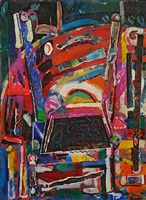 broken chair by david driskell