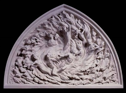 ex nihilo, working model by frederick hart