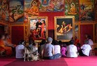 village and elsewhere: artemisia gentileschi's judith beheading holofernes, jeff koons' untitled, and thai villagers by araya rasdjarmrearnsook
