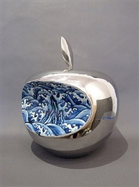 apple- china (silver) by li lihong