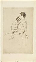 quietude by mary cassatt