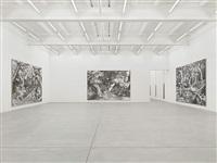 exhibition view galerie eva presenhuber by ugo rondinone