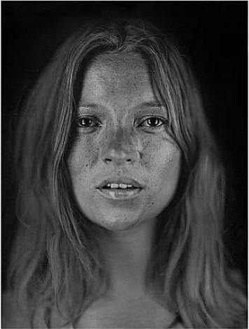 untitled (kate #18) by chuck close