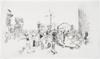 untitled (place de la revolution) by charles avery