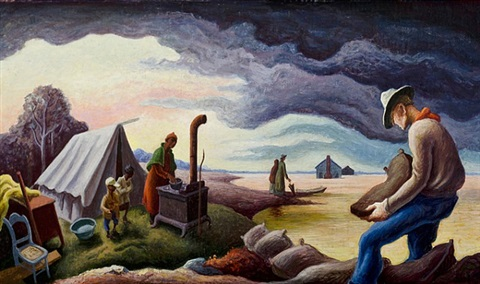 the flood by thomas hart benton