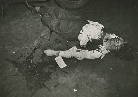 dead upon arrival, new york city by weegee