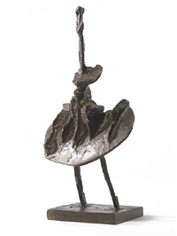 maquette for flat bird by bernard meadows