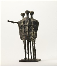 model for the krefeld monument no. 2 by kenneth armitage