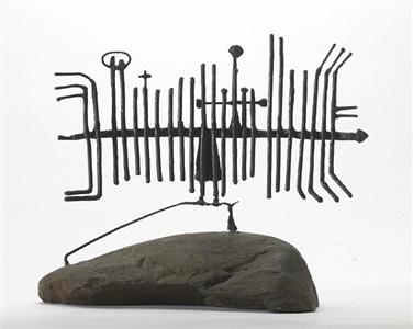 symbol for man ix by geoffrey clarke