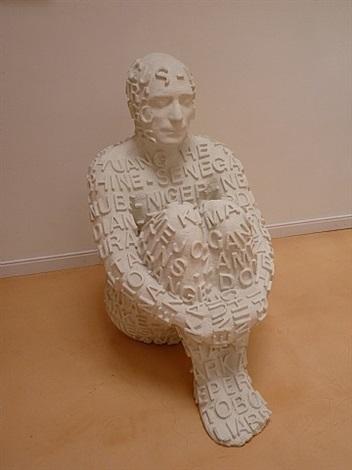 self- portrait by jaume plensa