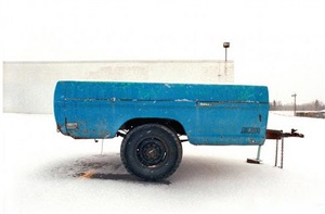 blue truck bed, sioux falls, south dakota, 2001 by chip simone