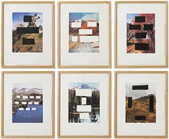 country cityscapes portfolio (six works) by ed ruscha
